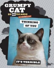 Grumpy Cat Notecards by Various