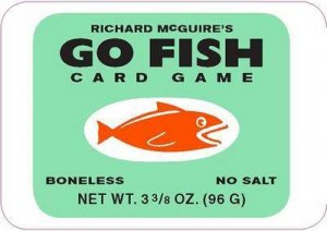 Richard McGuire's Go Fish Card Game by Richard McGuire