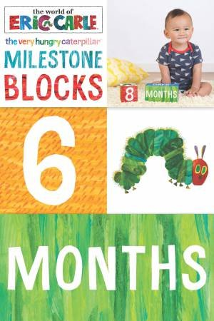 The World Of Eric Carle: The Very Hungry Caterpillar: Milestone Blocks by Eric Carle