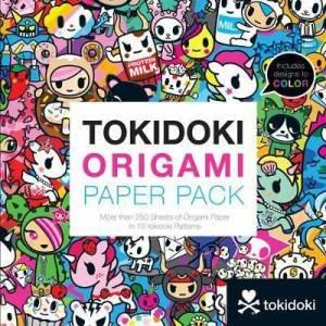 tokidoki Origami Paper Pack by tokidoki