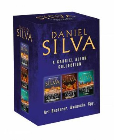 Daniel Silva Box Set (3 Book Set)