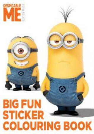 Despicable Me: Big Fun Book to Colour by Various