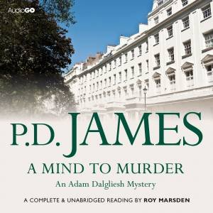 A Mind to Murder 6/413 by P D James