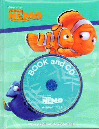 Finding Nemo Book & CD by Various