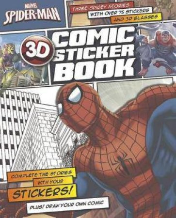 Marvel Spiderman 3D Comic Sticker Book by Various