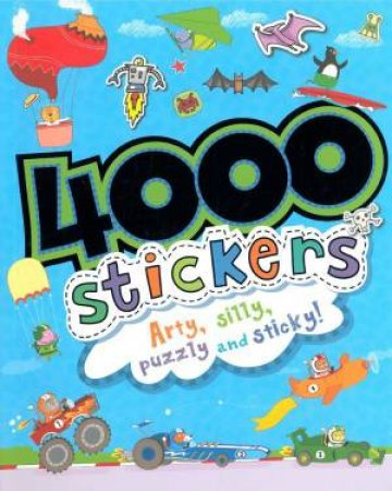 4000 Stickers for Boys by Various