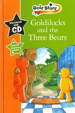 Gold Stars Goldilocks And Three Bears  Book And CD