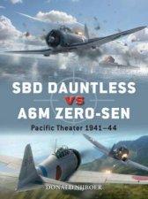 SBD Dauntless vs A6M ZeroSen 194244 Pacific