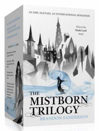Mistborn Trilogy Boxed Set by Brandon Sanderson