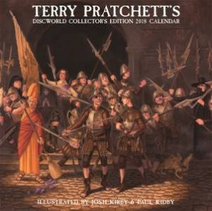 Terry Pratchett's Discworld Collectors' Edition Calendar 2018 by Terry Pratchett & Paul Kidby