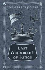 Last Argument Of Kings 10th Anniversary Ed