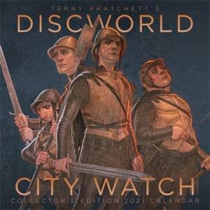 Terry Pratchett's Discworld City Watch Collectors Edition 2021 Calendar