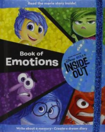 Disney Pixar Inside Out Book of Emotions by Various