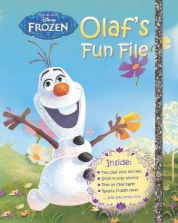 Disney Frozen Olaf's Fun File by Various