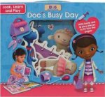 Disney Junior Doc McStuffins Look, Learn And Play Doc's Busy Day by Various