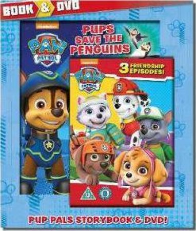 Nickelodoen PAW Patrol: Book & DVD