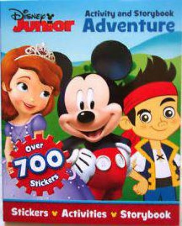 Activity And Storybook Adventure: Disney Junior