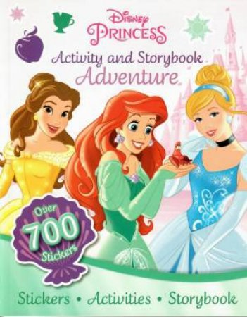 Activity And Storybook Adventure: Disney Princess