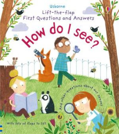 Lift-The-Flap First Questions And Answers: How Do I See? by Katie Daynes