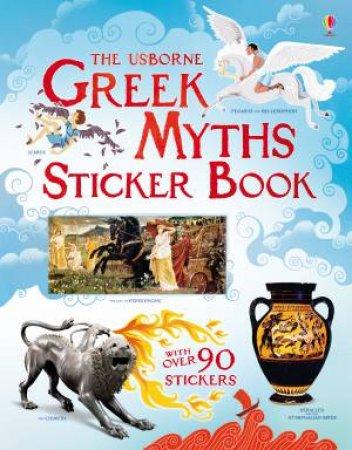 Greek Myths Sticker Book by Rosie Dickins & Galia Bernstein