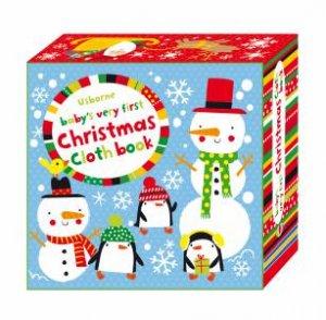 Baby's Very First Christmas Cloth Book by Fiona Watt & Stella Baggott