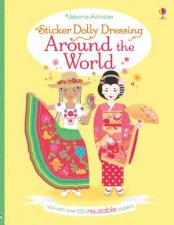 Sticker Dolly Dressing Around The World by Emily Bone & Lucy Bowman & Louie Stowell