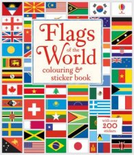 Flags Of The World Colouring Sticker Book