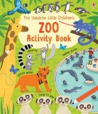 Usborne Little Childrens Zoo Activity Book