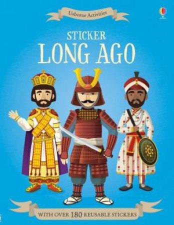Sticker Dressing Long Ago by Megan Cullis & Emi Ordas