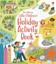 Little Childrens Holiday Activity Book