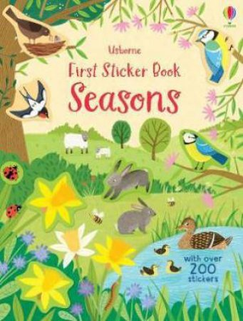 First Sticker Book Seasons