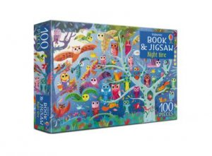 Usborne Book And Jigsaw: Night Time