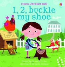 1 2 Buckle My Shoe Board Book