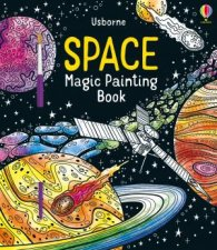 Space Magic Painting Book