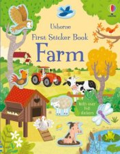 First Sticker Book Farm