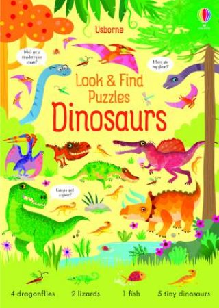 Look And Find Puzzles: Dinosaurs by Kirsteen Robson & Gareth Lucas