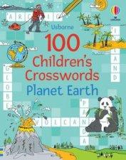 100 Childrens Crosswords Planet Earth