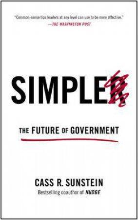 Simpler by Cass R. Sunstein