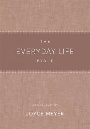 The Everyday Life Bible Blush LeatherLuxe