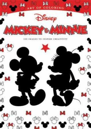 Art of Coloring: Mickey Mouse And Minnie Mouse