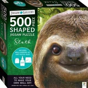 500-Piece Shaped Jigsaw: Sloth