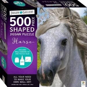 500-Piece Shaped Jigsaw: Horse