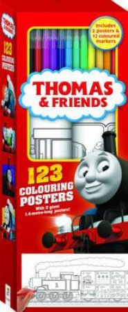 Thomas And Friends: 123 Colouring Posters