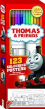Thomas And Friends: 123 Colouring Posters by Various
