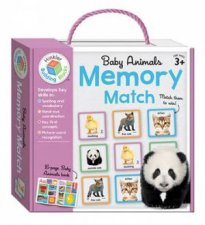 Baby Animals Memory Match by Various