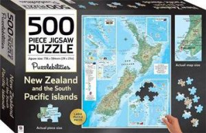 Puzzlebilities 500 Piece Jigsaw Puzzle: New Zealand And The South Pacific
