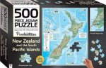 Puzzlebilities 500 Piece Jigsaw Puzzle: New Zealand And The South Pacific by Various