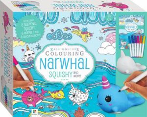Kaleidoscope Colouring: Narwhal Squishy by Various