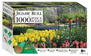 Mindbogglers Jigsaw Roll With 1000 Piece Puzzle: Springtime Tulips, Holland