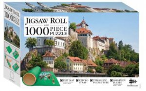Mindbogglers Jigsaw Roll With 1000 Piece Puzzle: Aarburg Castle, Switzerland